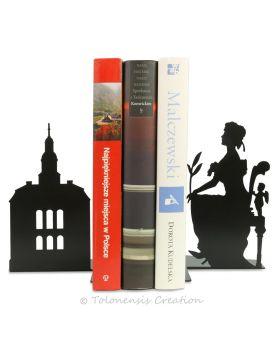 Horloge design Coucou 40 cm de hauteur réalisée en acier découpé laser