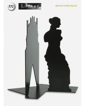 Horloge murale rouge Circus. Hauteur 40 cm. Création en métal par découpe laser