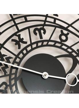 Mediaval clock of Prague Zodiac signs. Diameter 40 cm
