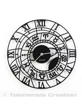 Mediaval clock of Prague Zodiac. Diameter 40 cm