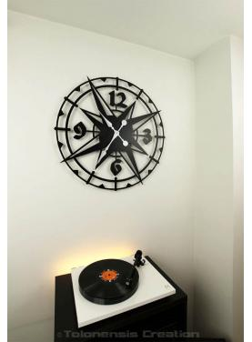 Large clock Colombus. Diameter 78 cm