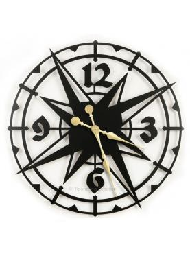Large exotic clock Colombus. Diameter 78 cm