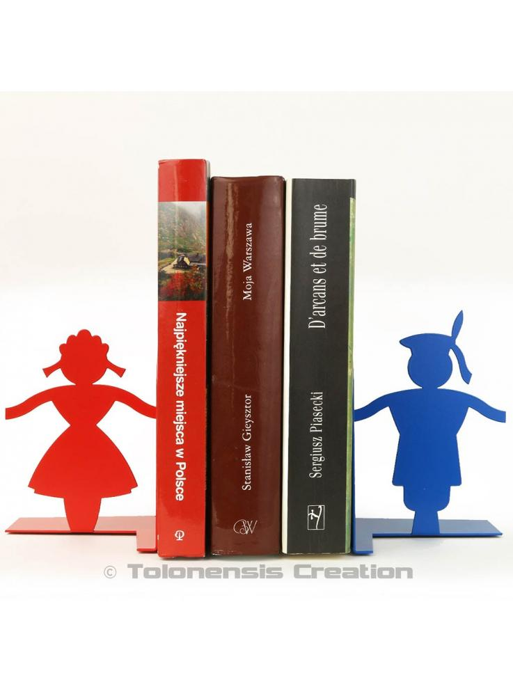 Set of bookends Cracow on the theme of the polish folklore. Height 15 cm