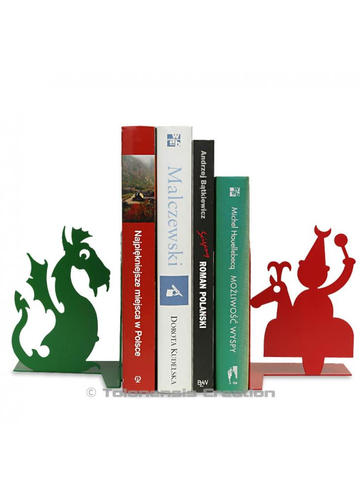 Bookends Lajkonik and the Wawel dragon