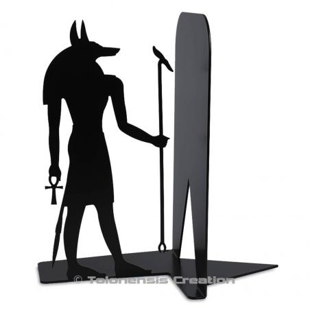 Stunning bookend Anubis on the theme of the ancient Egypt. Height 19 cm