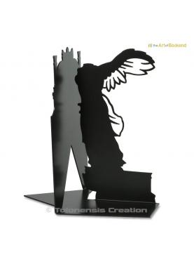 the Bookend Winged Victory of Samothrace presented in the museum le Louvre. Height 19 cm