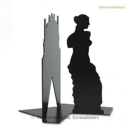 Bookend the Venus of Milo presents the greek goddess of love Aphrodite. Height 19 cm