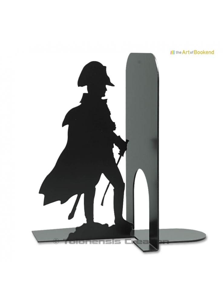 Bookend Napoleon in 1806 depicts the french emperor looking at the parade of the Grenadiers of the Inperial Guard. Height 19 cm
