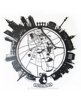 Serre-livres Château de Książ et Daisy von Pless. Hauteur 19 cm. Acier découpé laser