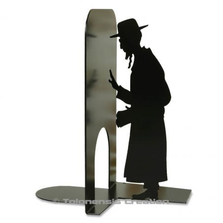 Bookend Judaica with an orthodox jew