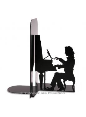 Bookends Frédéric Chopin. Height 19 cm