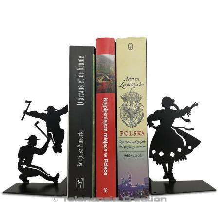 Bookends Polish Folk Górale. Height 19 cm