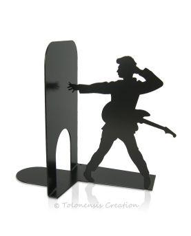 Wall clock Charleston. Art Deco stylized. Height 40 cm