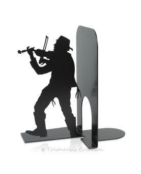 Vue rapprochée de l'horloge poissons Atol. Diamètre 40 cm