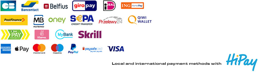 Local and international Payment methods with HiPay
